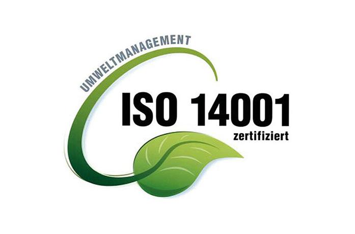 Zertifiziert nach DinISO 14001